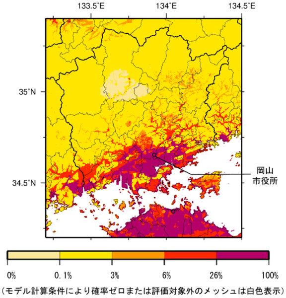 33_岡山県_震度6弱以上の揺れ