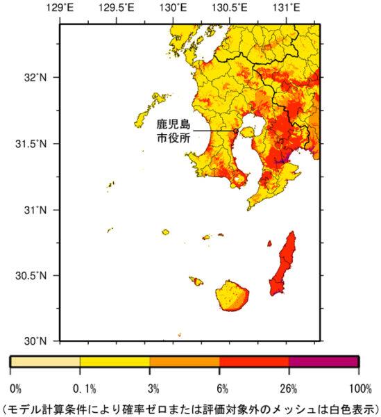 46_鹿児島県(奄美地方を除く)_震度6弱以上の揺れ