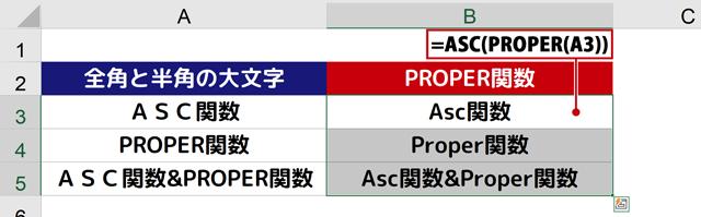 =ASC(PROPER(A3))