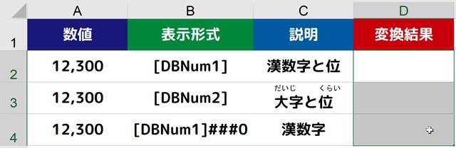 TEXT|D2セル~D4セルを選択