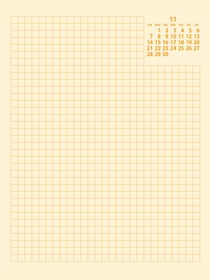 ウィークリーE21年11月|黄(300px)