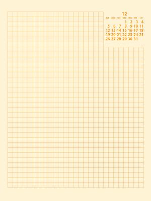 ウィークリーF21年12月|黄(300px)